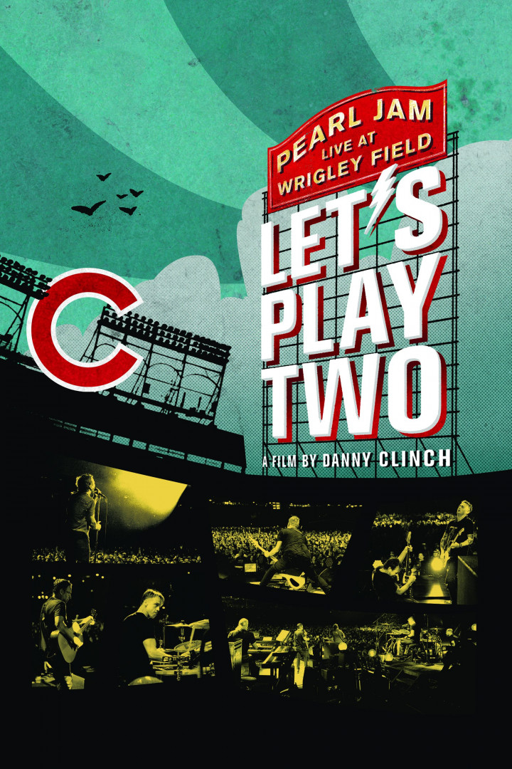 Cover Lets Play Two DVD Pearl Jam