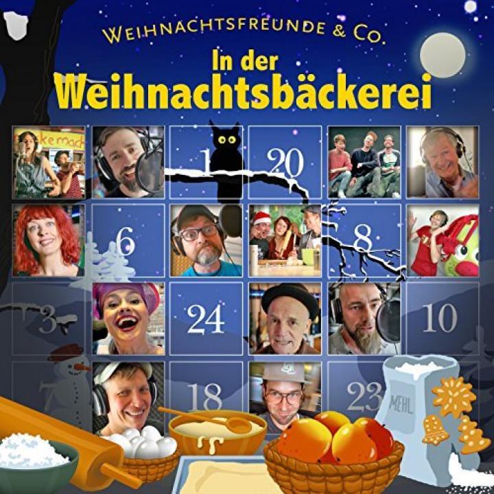 Weihnachtsfreunde & Co.: In der Weihnachtsbäckerei (Single)
