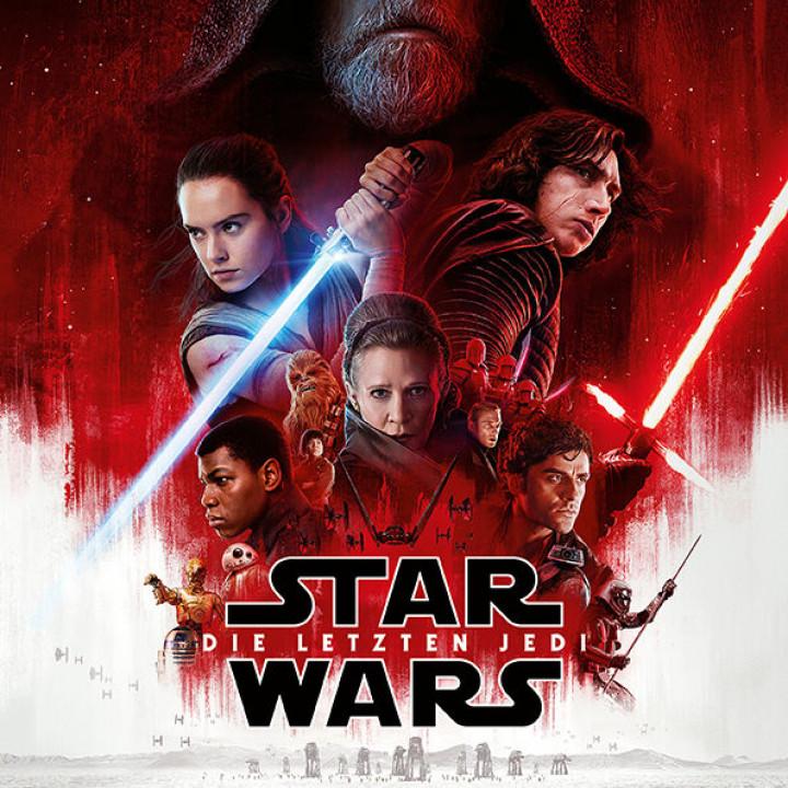 Star Wars Die letzten Jedi Plakat neu