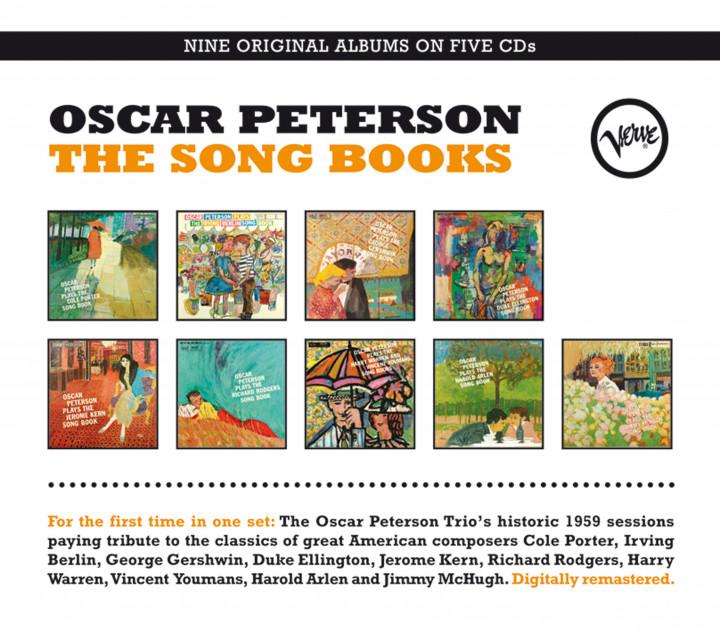 Oscar Peteson Songbooks