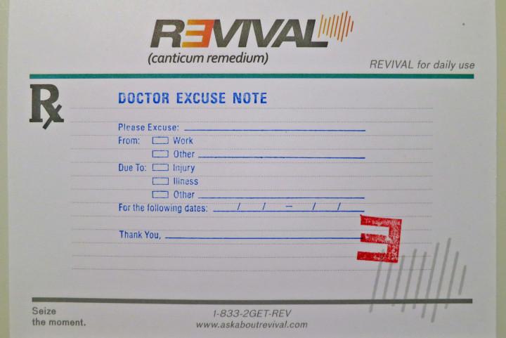 Revival Rezeptblock