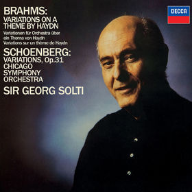 Sir Georg Solti, Brahms: Variations on a Theme by Haydn / Schoenberg: Variations, Op.31, 00028948330973