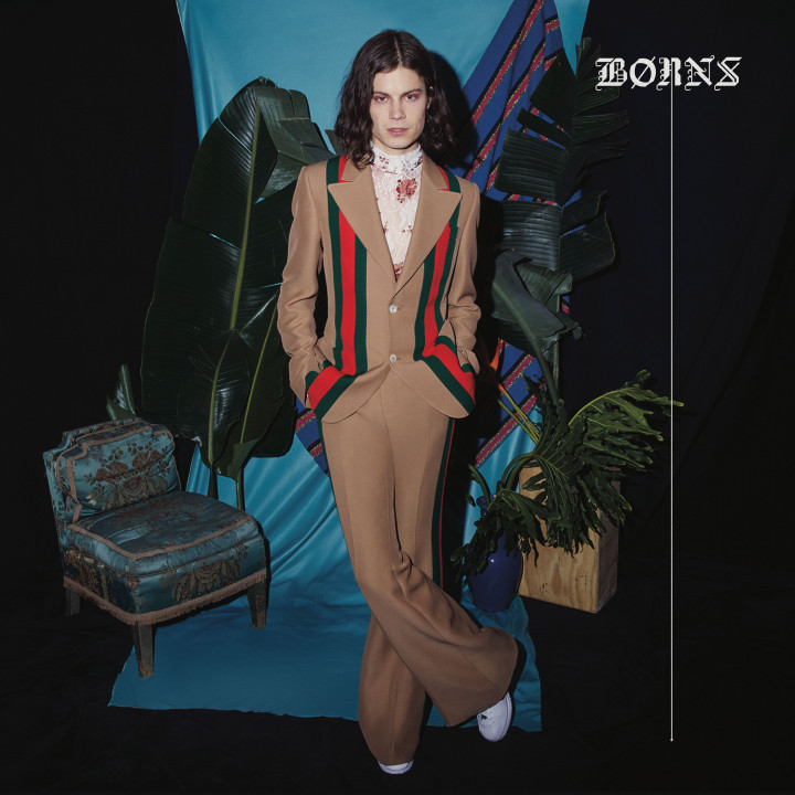 Borns Blue Madonna Cover
