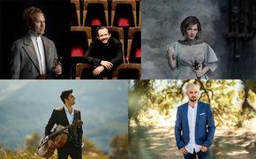 Diverse Künstler, KlassikAkzente Vorschau 2018: Auf diese Klassik Alben dürfen wir uns im neuen Jahr freuen