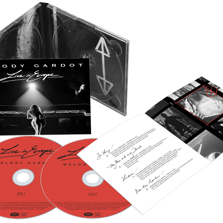 Live In Europe – CDs