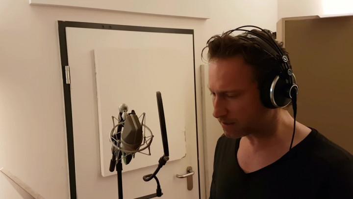 Im Studio mit Sascha Rotermund