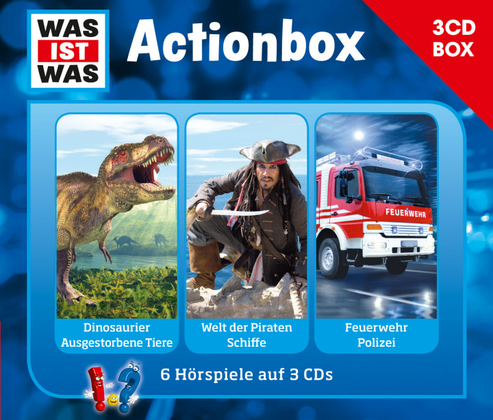 Was ist was Actionbox Cover