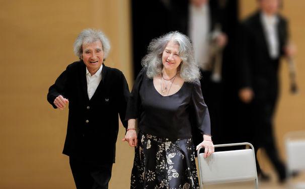 Martha Argerich, Der glückliche Beethoven – Tänzerischer Vorabtrack aus Ozawas und Argerichs neuem Album