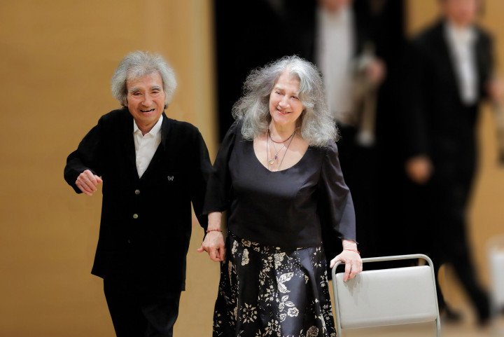 Seiji Ozawa, Martha Argerich