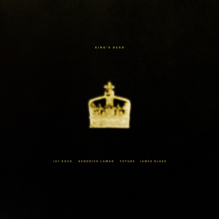 Cover King's Dead Kendrick Lamar James Blake