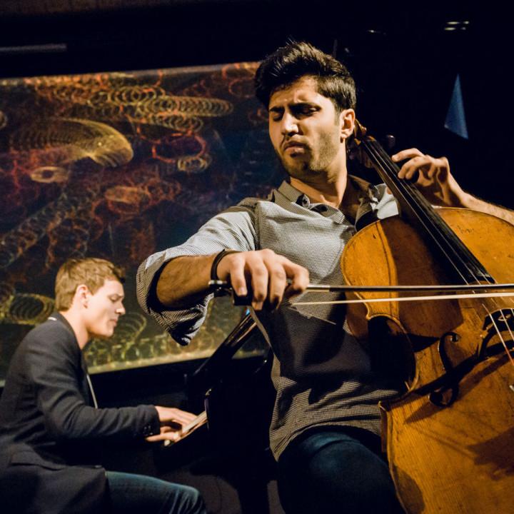 Kian Soltani und Aaron Pilsan