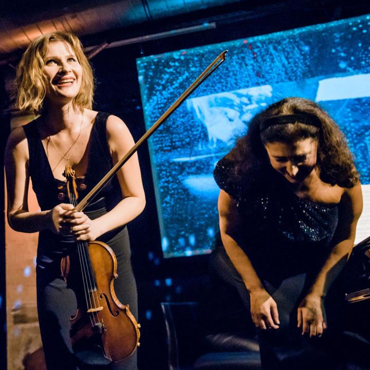 Lisa Batiashvili und Milana Chernyavska