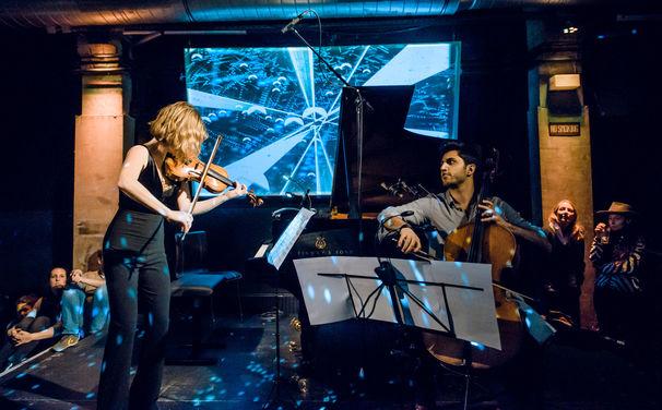 Lisa Batiashvili, Begeisternd – Lisa Batiashvili und Kian Soltani wirbelten in der Yellow Lounge