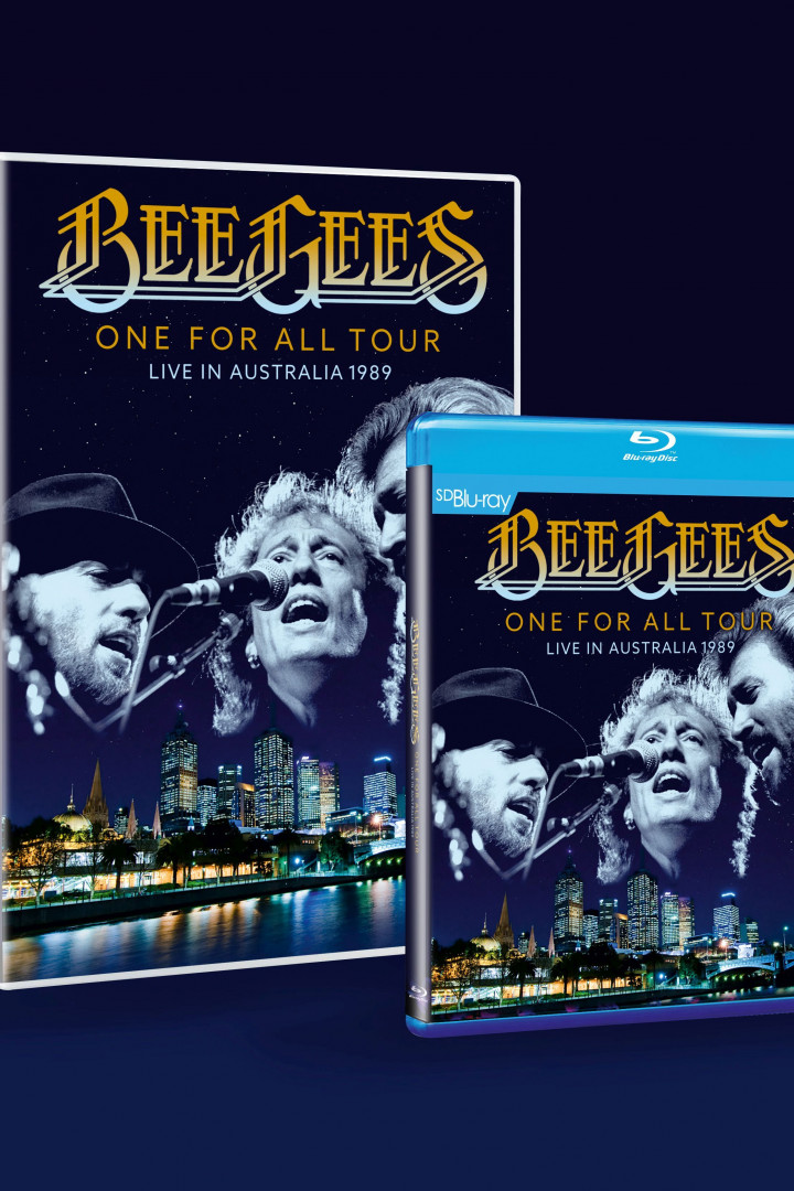 Bee Gees Cover Blu-ray und DVD