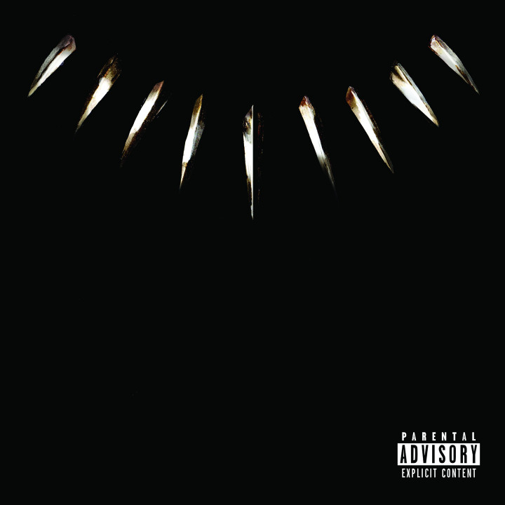 Black Panther The Album Cover