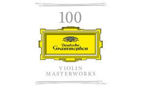 Diverse Künstler, 100% Violine - Sonderedition 100 Violin Masterworks vereint die besten Aufnahmen bei Deutsche Grammophon