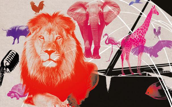 Der Karneval der Tiere, Tierisch gut - Katja Riemann und die Jussen-Brüder präsentieren Roger Willemsens originelle Fassung von Der Karneval der Tiere