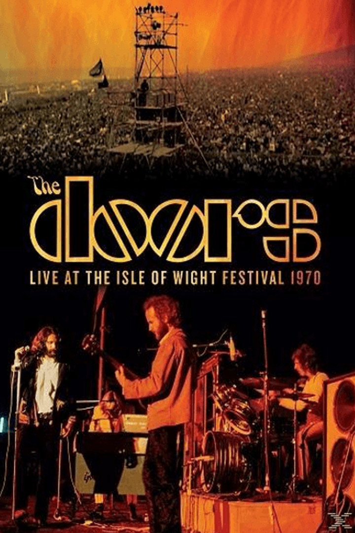 The Doors DVD Cover Isle Of Wight