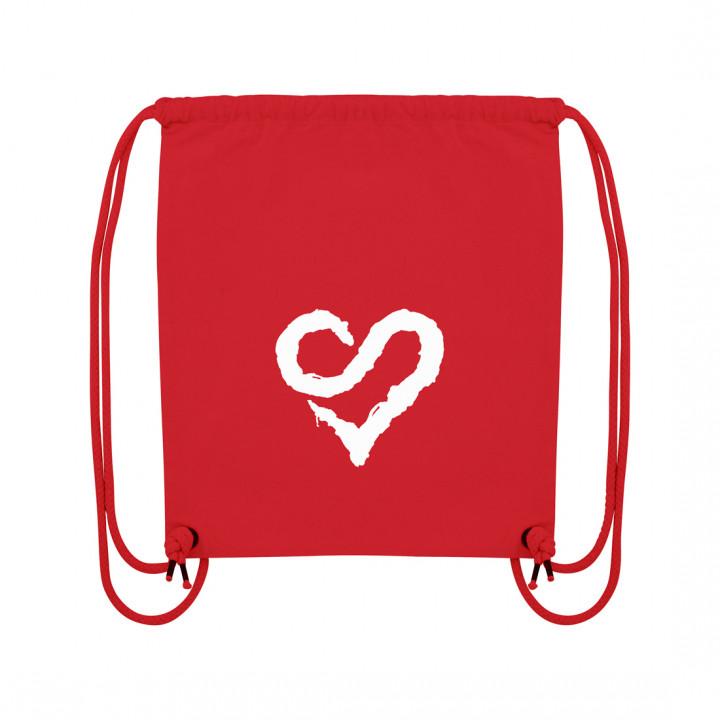 Logo Heart White