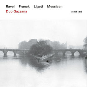 Duo Gazzana, Ravel, Franck, Ligeti, Messiaen, 00028948167814