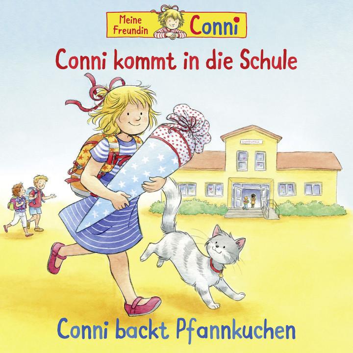 56: Conni kommt in die Schule (neu) / Conni backt Pfannkuchen