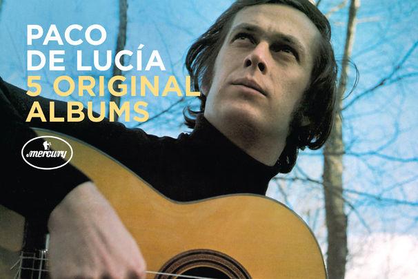 5 Original Albums, Bescheidener Flamenco-Gott - fünf Paco-de-Lucía-Klassiker in einer Box