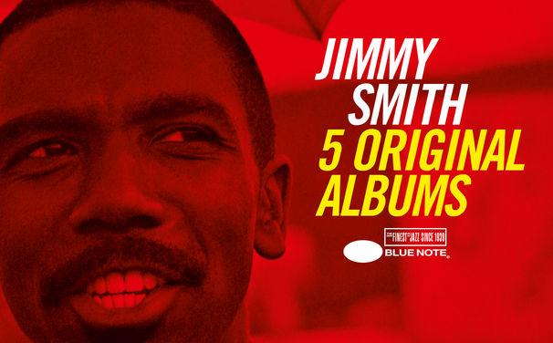 Jimmy Smith, Hohepriester der Hammond-Orgel - Jimmy Smith in 5er-Box