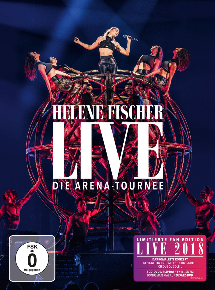 Helene Fischer Live- Die Arena Tournee Ltd. Fan-Edition