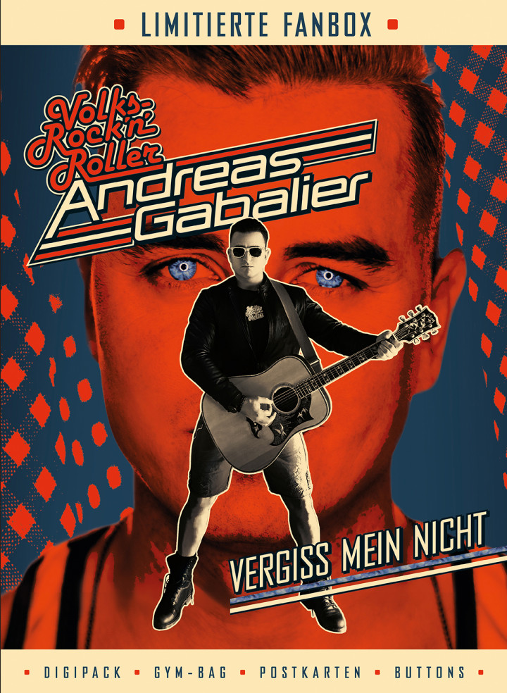 Andreas Gabalier - Vergiss mein nicht - Fanbox