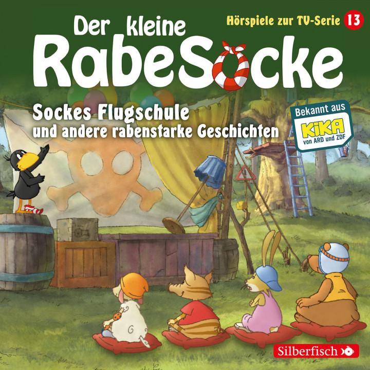 Sockes Flugschule u. a. rabenstarke Geschichten