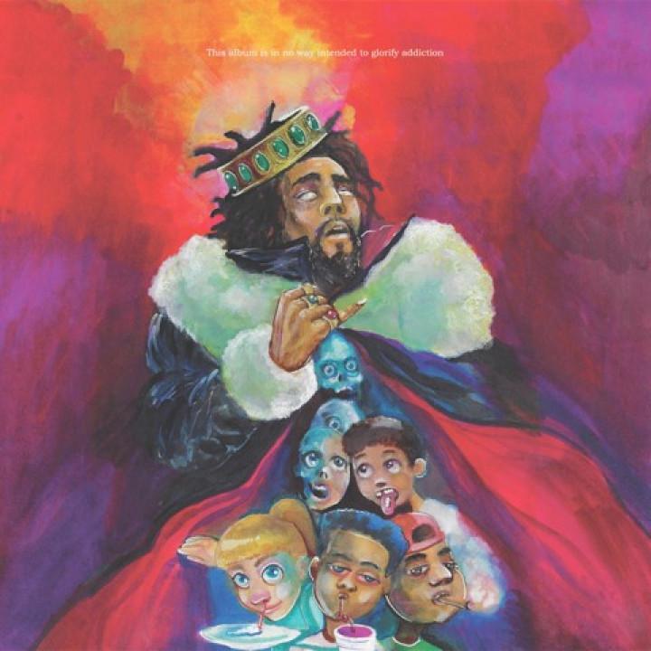 J. Cole K.O.D. Album Cover