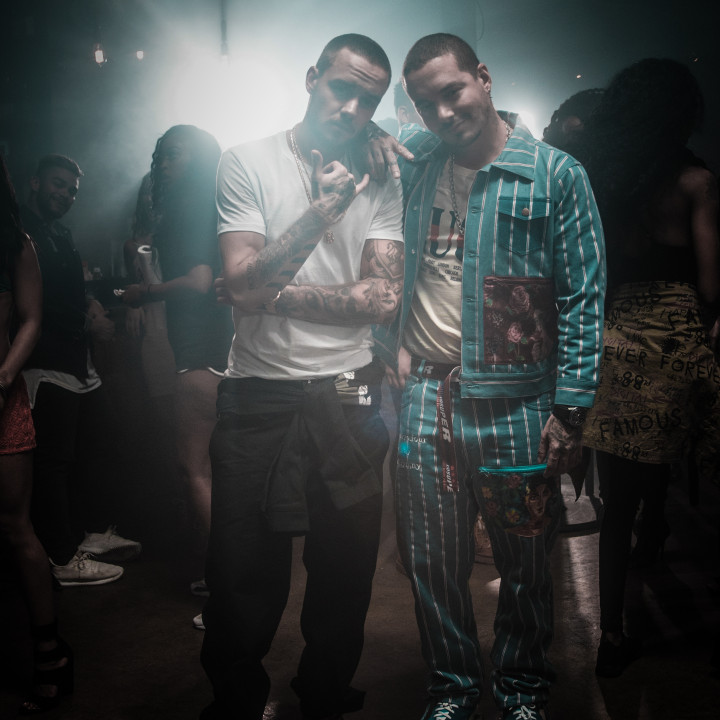 Liam Payne and J Balvin 2018