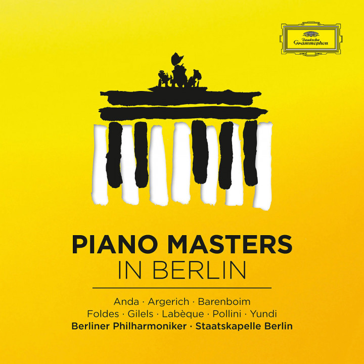 Piano Masters In Berlin - Great Concertos