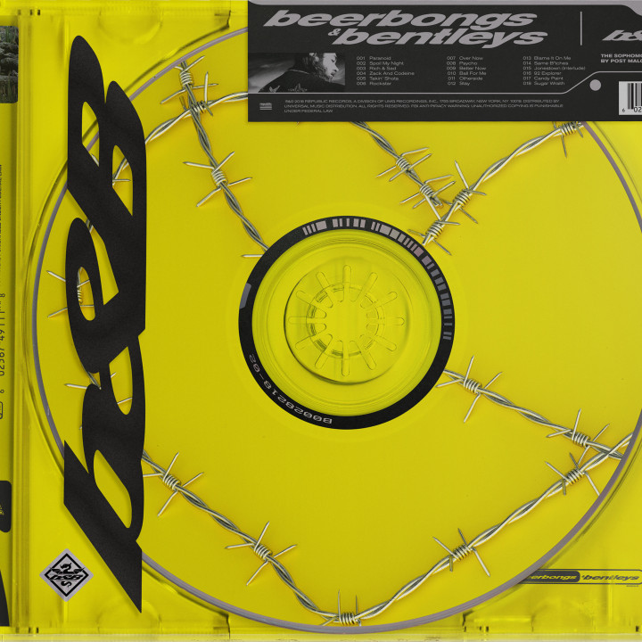 Post Malone Beerbongs & Bentleys CD View