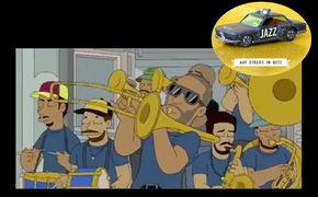 Auf Streife im Netz, Schwarz trifft Gelb - Trombone Shortys Gastauftritt bei den Simpsons