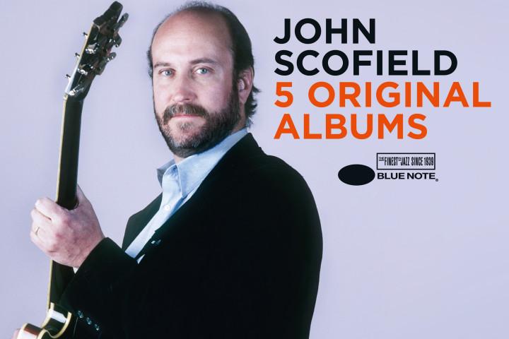 John Scofield - 5 Original Albums