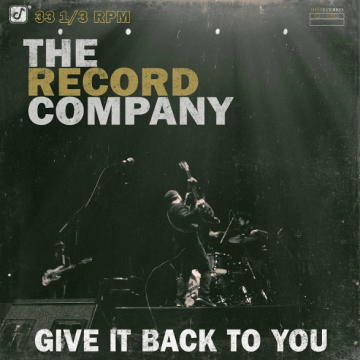 The Record Company - Give It Back To You Cover 2016