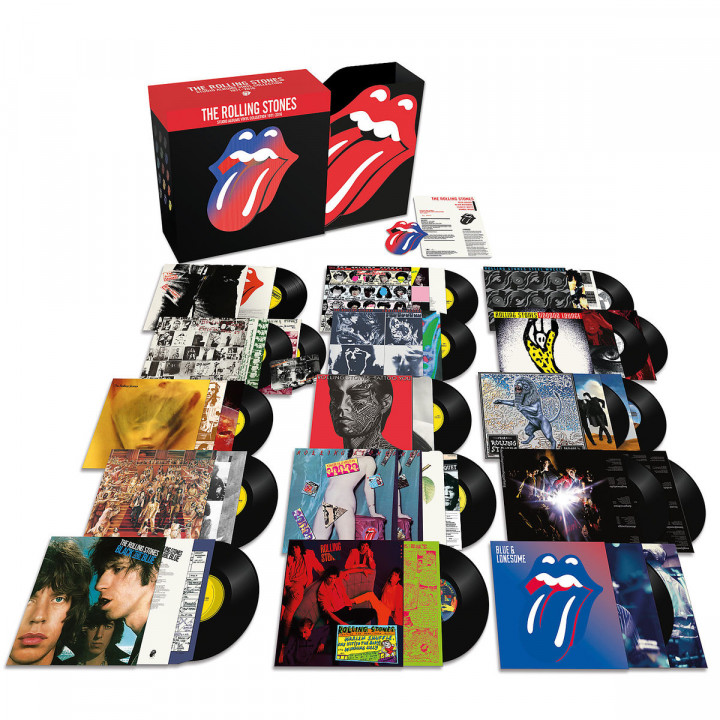 The Rolling Stones: Studio Albums Vinyl Collection 1971 - 2016