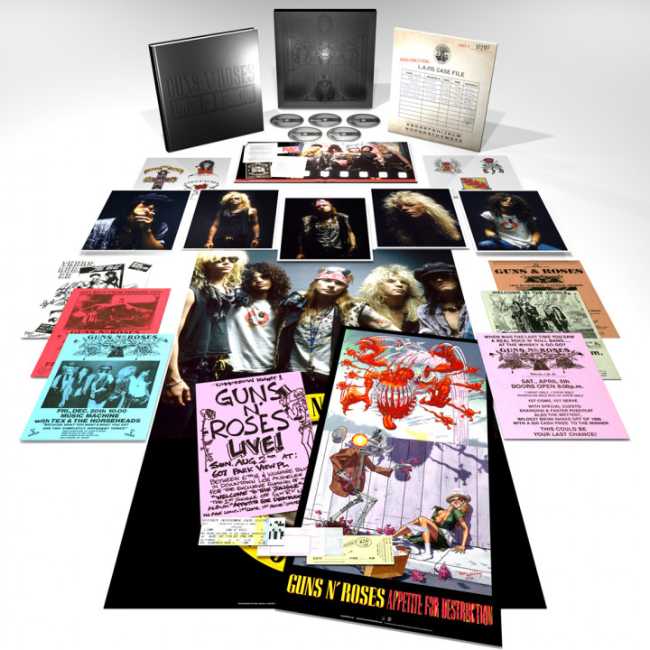 Appetite For Destruction SUPER DELUXE EDITION Cover
