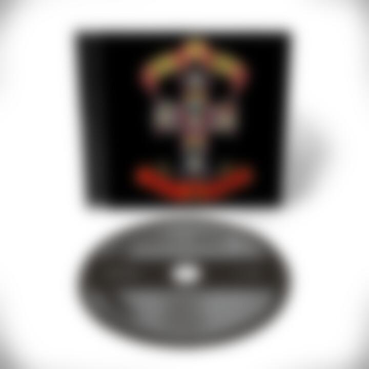 Appetite For Destruction CD Remaster Cover