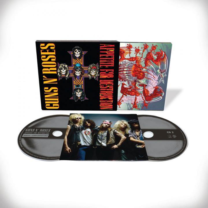 Appetite For Destruction 2 CD Deluxe Edition