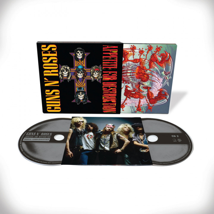 Appetite For Destruction 2 CD Deluxe Edition