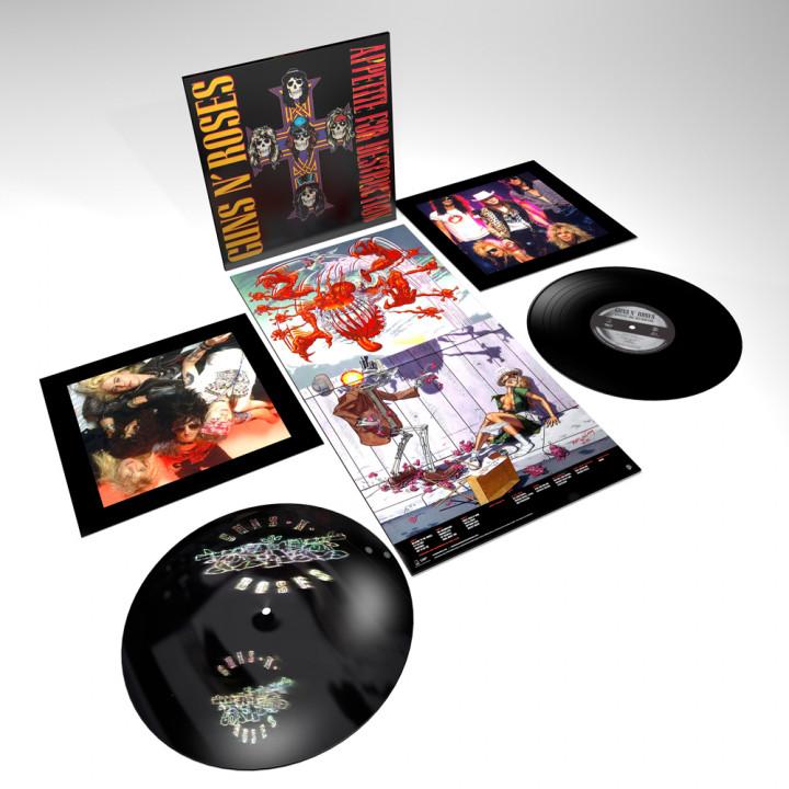 Appetite For Destruction LTD. 2 LP