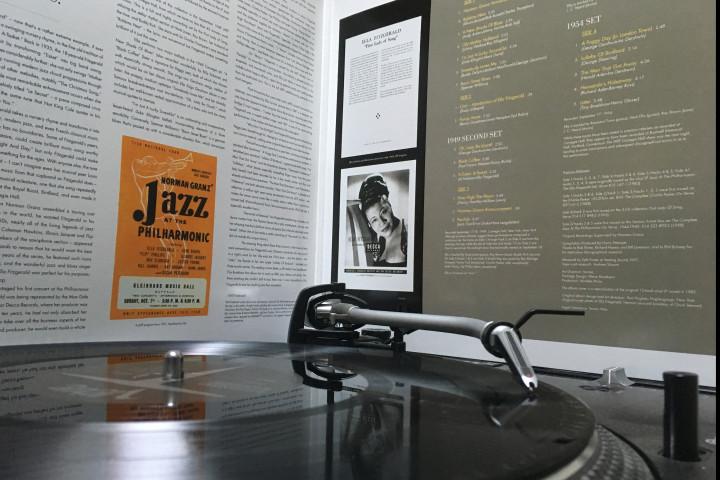 JATP Plattenteller - Ella Fitzgerald