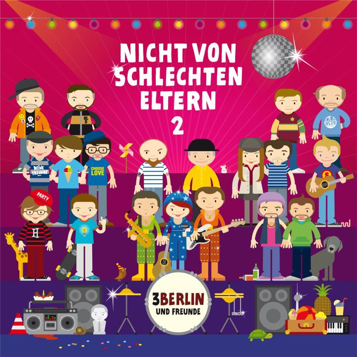 3Berlin Nicht von schlechten Eltern 2 CD Cover