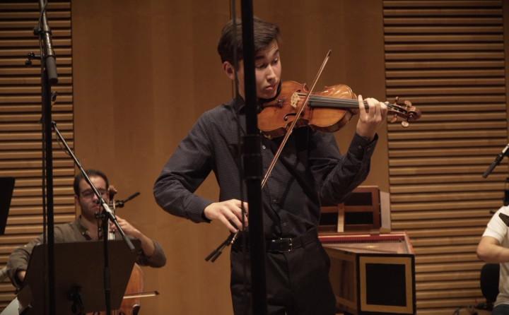 J.S. Bach: Violin Concertos Nos. 1 & 2; Partita No. 2 (Teaser)