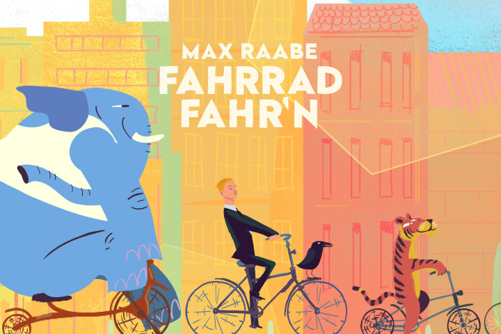 "Max Raabe - neue Single ""Fahrrad fahr'n!"", neues Video und TV-Auftritt"