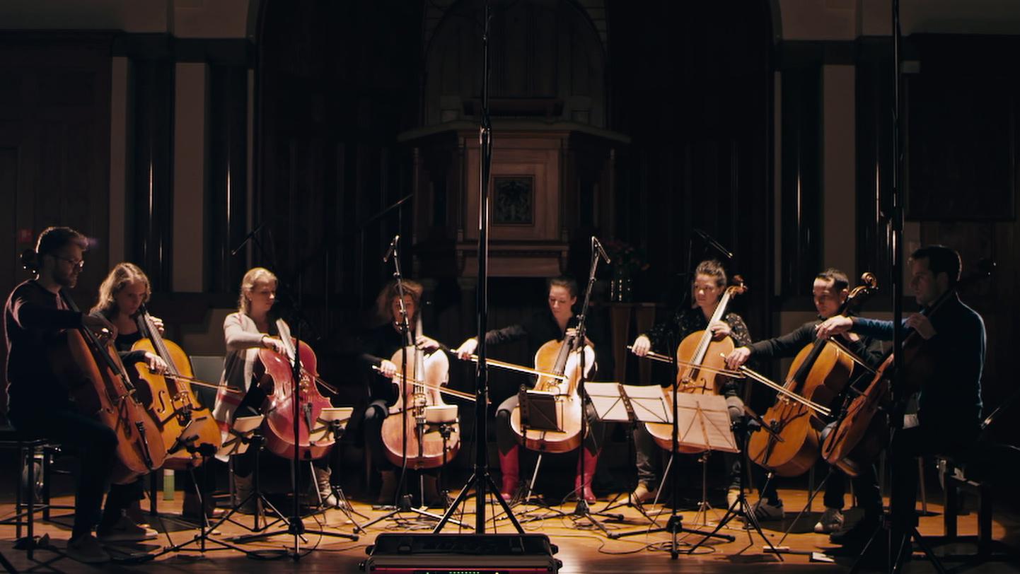 Joep Beving, Hanging D (Cello Octet Amsterdam Version)