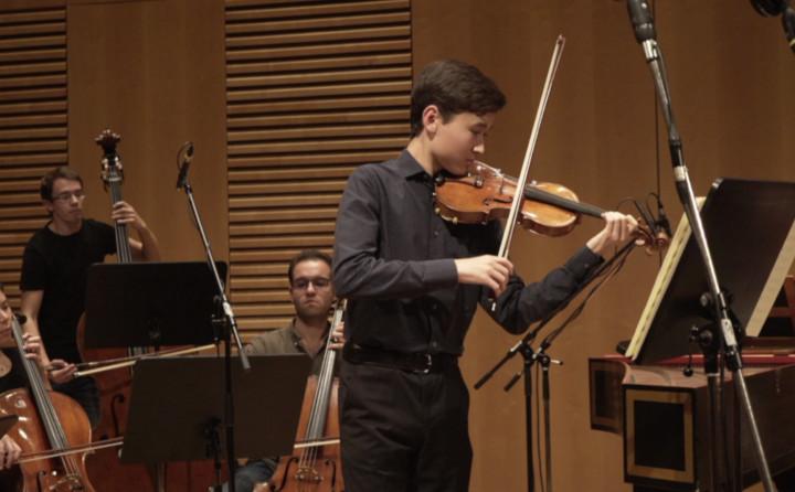 Bach: Violin Concerto No.1 in A minor, BWV 1041, 1. Allegro moderato