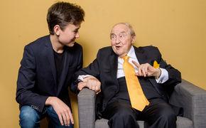 Menahem Pressler, Zusammenkunft der Generationen - Menahem Pressler und Daniel Lozakovich in der Yellow Lounge